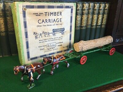 Britains Vintage Farm Timber Carriage. No.12F • 135£