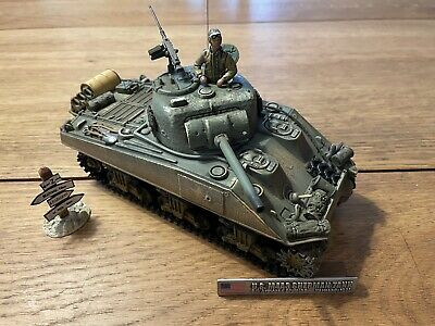 Forces Of Valour Diecast Sherman Tank Normandy 1944 1:32 Scale • 42.99£