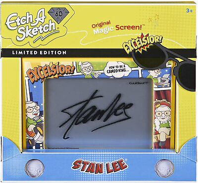 Etch A Sketch Classic STAN LEE 60th Anniversary Limited Edition Magic Screen • 34.99£