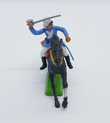 Britains Deetail Mounted Light Blue French Foreign Legionnaire - Ref 809 • 12.50£