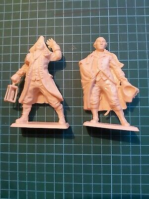 90mm American War Of Independence  Revolution George Washington And Paul Revere • 12£