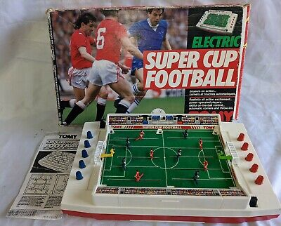 Tomy Super Cup Football Electric Boxed 80s 90s Vintage Game Working Condition • 89.99£