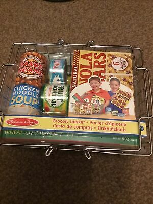 Melissa And Doug Toy Grocery Basket Brand New And Sealed • 15.50£