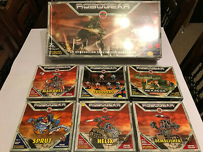Robogear Sealed Game With 6 Unused Add-ons • 60£