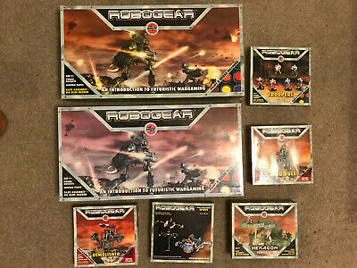 Two Complete Robogear Games And 5 Add-on Packs • 60£