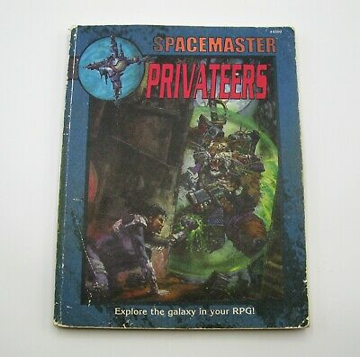 Spacemaster - Privateers / I.c.e. Science Fiction Rolemaster Roleplay Rulebook • 14.95£