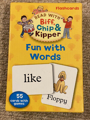 Biff Chip And Kipper Flashcards Fun With Words • 1.60£