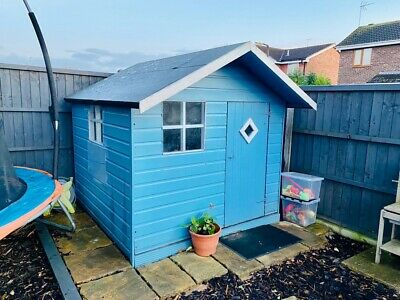 Childrens Wooden Wendy House 6ft By 6ft • 180£
