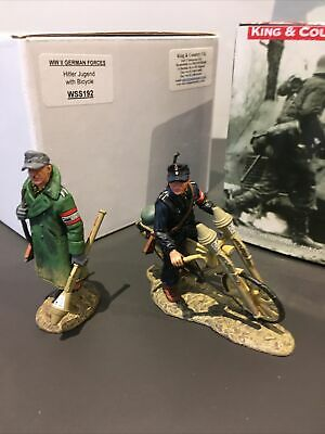 King And Country German Hitler Jugend Excellent Condition 2 Off WSS192 & 181 • 35£