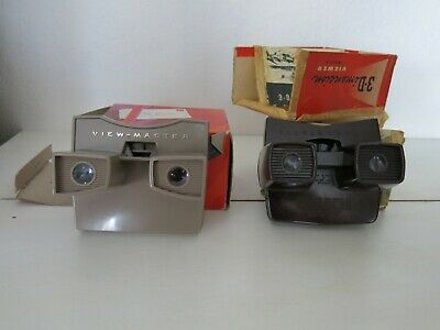 Sawyer's And Gaf View Master 3D Viewer + Reels • 6£