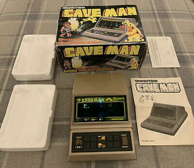 Excellent Cave Man Grandstand LCD Vintage Game Electronic Arcade Tiger Astro • 52£