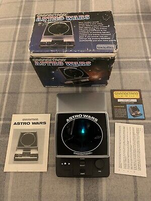 Excellent Astro Wars Grandstand LCD Vintage Game Electronic Arcade Tiger Watch • 52£