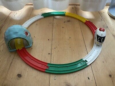 Tomy My First Train Set - White Pullback Train, 1999 Used Good Condition • 0.99£