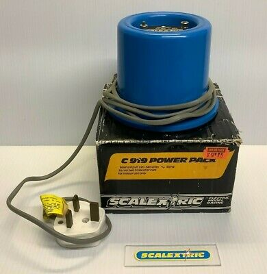 Scalextric Classic PSU Power Pack Supply Unit Transformer C919 (BEATTIES BOXED) • 10.99£