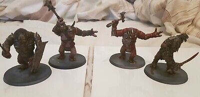 Mordor Trolls Miniatures, Gamesworkshop Well Painted  • 50£