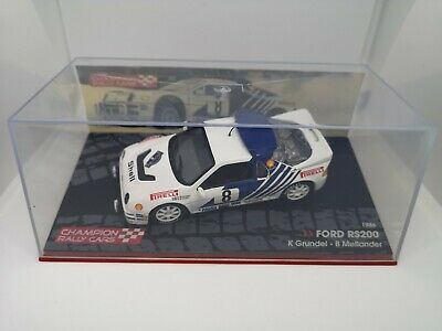 Ford RS200 Swedish Rally 1986 Model 1/43 • 30£