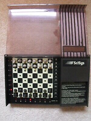 SciSys Travel Mate II Electronic Chess Set 1986 + Instruction Manual  • 48£