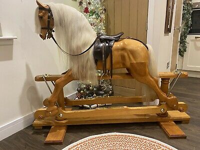 Wooden Hand Crafted Rocking Horse • 2,750£