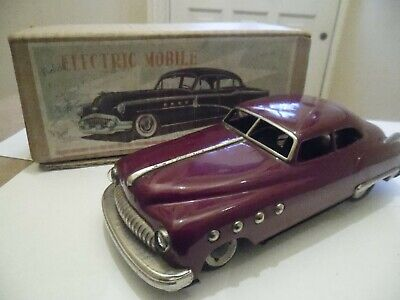 Rare Tinplate 1951 Buick Road Master By Nomura/showa Japan Battery Op • 145£