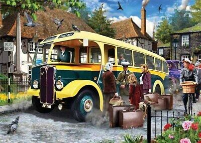 Falcon / Jumbo Catching The Bus - 500pc Jigsaw Puzzle • 8.99£