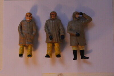 Set Of 3 - 1:24 Scale Fisherman For Model Boats • 15£