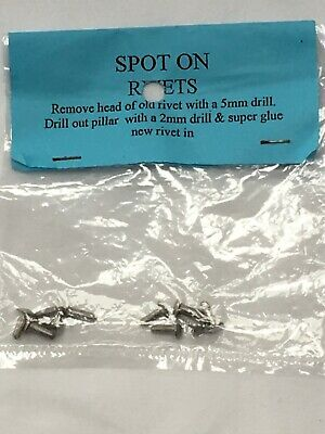 Pack Of 10 Replacement Rivets For Spot On Models • 1.50£