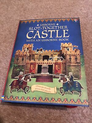 Usborne Slot Together Castle And Book • 3£