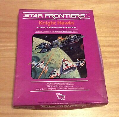 Star Frontiers Knight Hawks - Dungeons And Dragons Game - Used • 45£