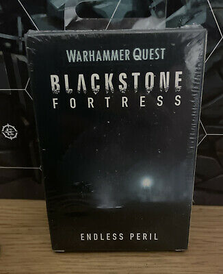 Blackstone Fortress Endless Peril Warhammer Quest Games Workshop New Sealed Rare • 22£