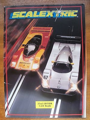 Vintage Scalextric Catalogue Thirty-second Edition 1991 • 11.99£