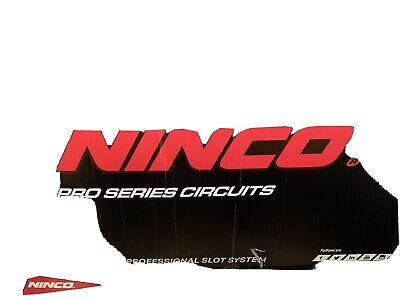 Ninco Track Set Used In Box Barriers 2x Controllers No Cars In Good Condition • 65£