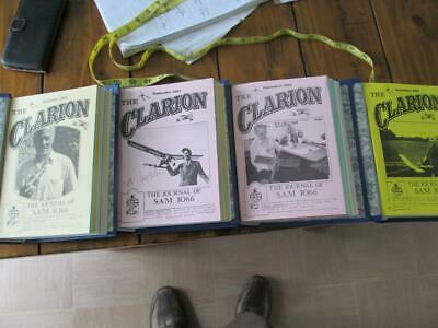 48 Issues 4 Bound Volume The Clarion Journal Of Sam 1066 Sept 2000 To Aug 2004 • 12.99£