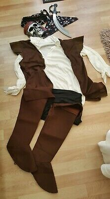 Costume For Adults Male Pirate- ONE SIZE FITS ALL • 6£