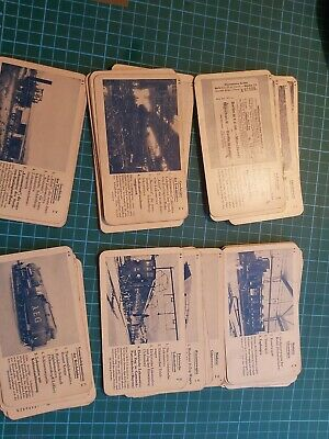 47 Hausser Railway Cards Like Top Trumps Game? • 5£