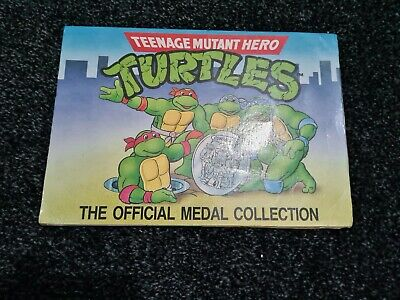 Teenage Mutant Hero Turtles The Official Medal Collection Vintage Spares  • 5£