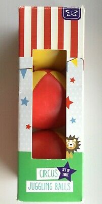 Set Of 3 Circus Juggling Balls, Used Once • 4.95£