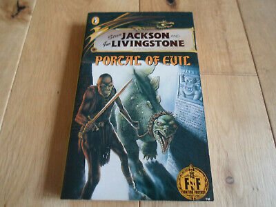 Fighting Fantasy 37 Portal Of Evil Gold Dragon 1st Edition (NM+) • 45£