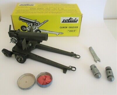 Solido Number 206 - Cannon Howitzer - Boxed                            Diecast • 1£
