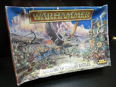 The Game Of Fantasy Battles 4th Edition Warhammer 1992 Incomplete ***PLEASE READ • 0.99£