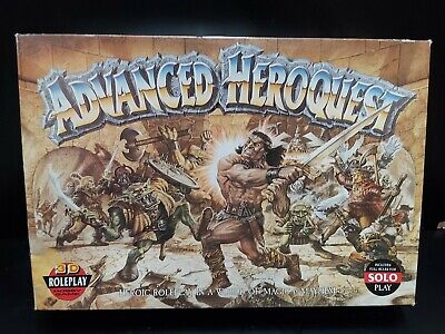 Advanced Heroquest Boardgame : Games Workshop - Complete Game • 109.99£