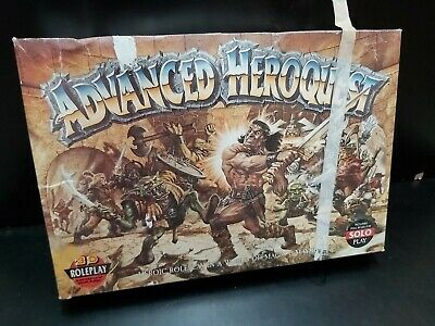 ADVANCED HEROQUEST BOARDGAME : GAMES WORKSHOP - ***no Instructions.  • 94.95£
