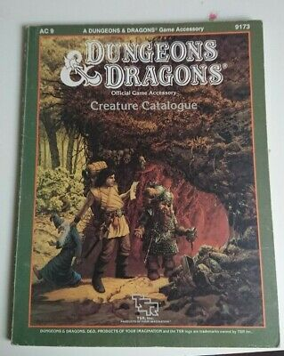Advanced Dungeons And Dragons Creature Catalogue, AC9, 9173 • 16£