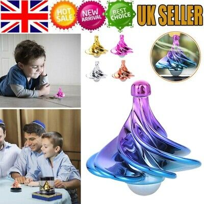 Toy Colorful Gyroscope Magic Wind Spinning Metal Decompression Fidget Spinner • 4.58£