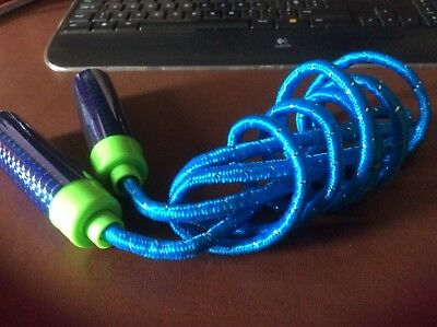 Skipping Rope Blue With Plastic Handles • 1.50£