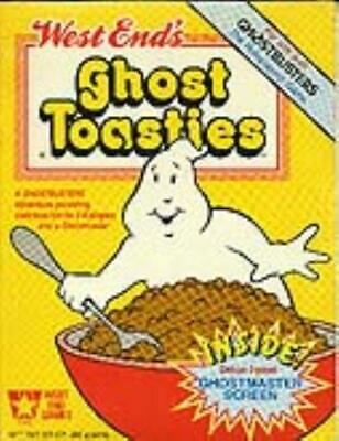 West End Ghostbusters Ghost Toasties W/GM Screen EX • 107.51£