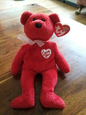 Ty Beanie Baby Bear Secret • 2£