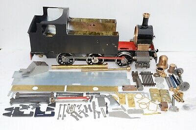 5  Simplex Live Steam Loco Project. Chassis, Cylinders, Castings, Boiler Kit • 995£