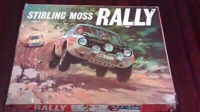 Stirling Moss Rally Board Game - Invented By Stirling Moss - Vintage - Rare  • 30£