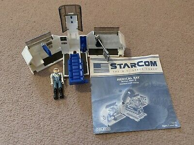 Starcom Coleco Medical Bay Includes Instructions Plus Figure • 15£