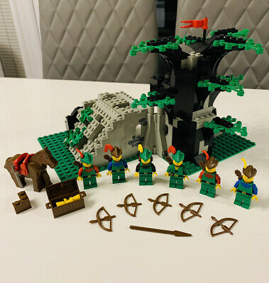 LEGO Forestmen 6066 Camouflaged Outpost COMPLETE Vintage Classic 1987 • 70£